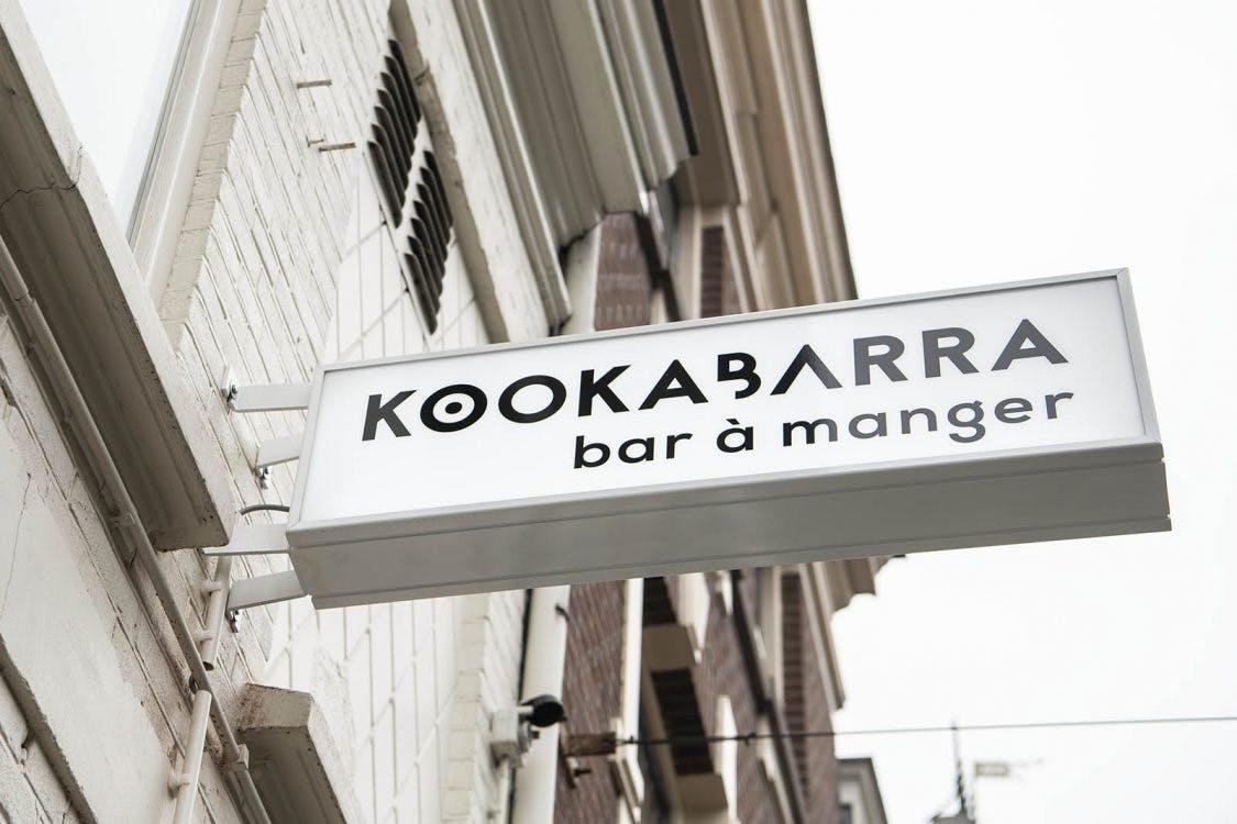 Culinair café KookaBarra aan de Burgemeester Reigerstraat is open