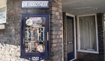 Na de gratis boekenkast nu ook dvd's ruilen in de 'videotheek'