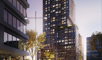 Iedere 10 dagen een nieuwe verdieping tijdens bouw Galaxy Tower in Utrecht