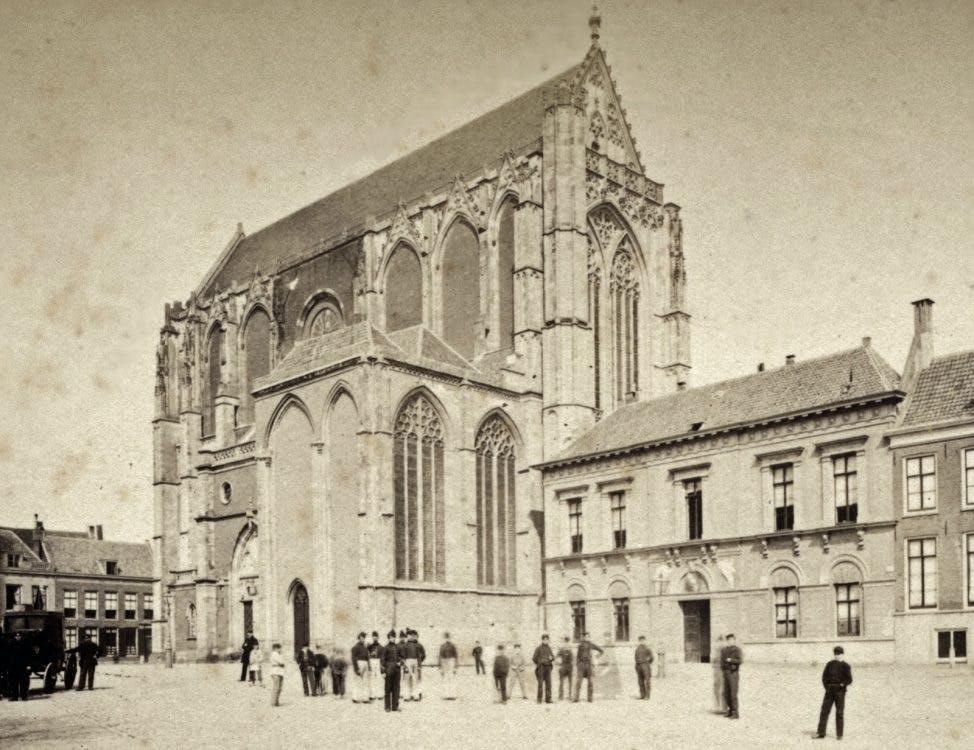 Verdwenen musea: het Leesmuseum aan het Domplein