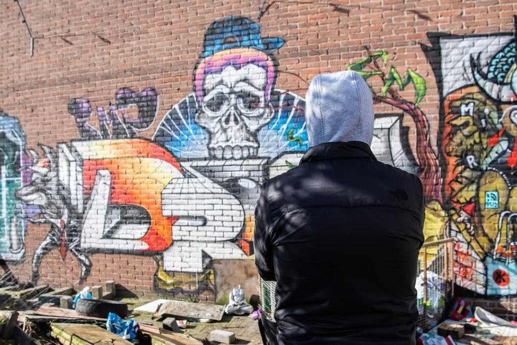 Rauw Utrecht – Graffitispuiter Drone: 'Een trein onderkalken is de ultieme kick'