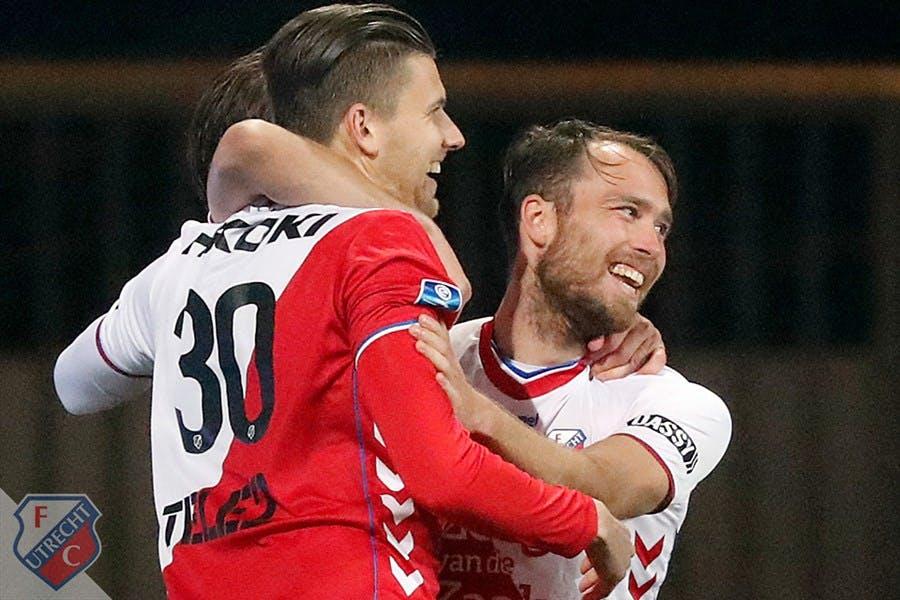 Slordig FC Utrecht wint ruim van Heracles Almelo