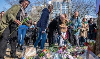 Vrijdagavond stille tocht in Utrecht voor de slachtoffers 24 Oktoberplein