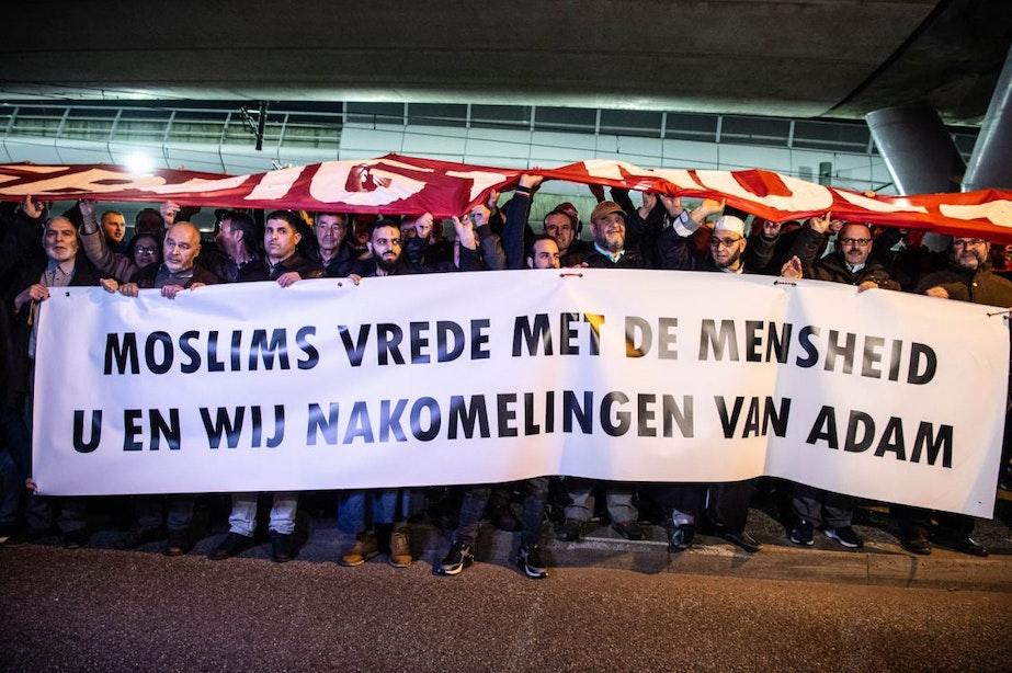 Spandoekenactie moskee en FC Utrecht genomineerd voor Tolerantieprijs