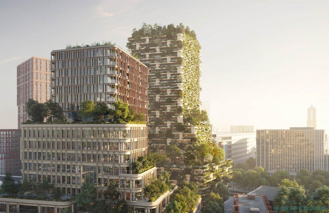 Uniek Utrechts gebouw Wonderwoods valt nu al in de prijzen
