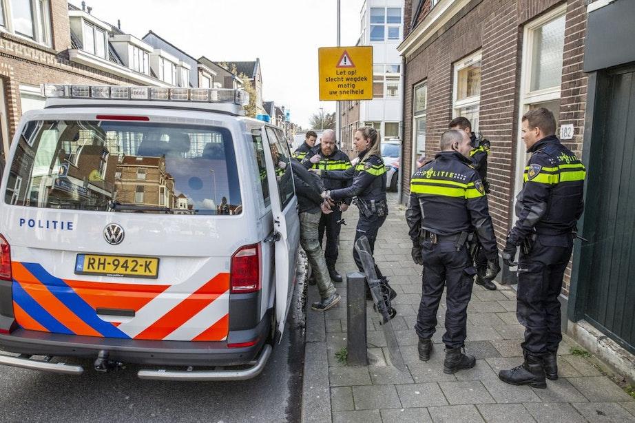 Gekraakte panden aan de Burgemeester Reigerstraat ontruimd