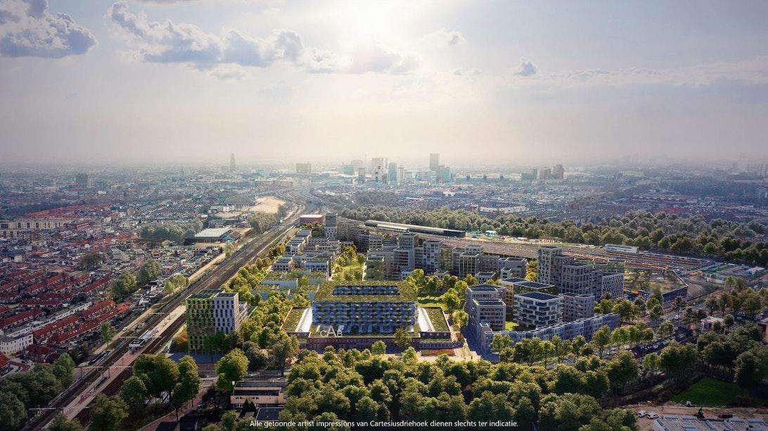 Utrechtse politiek wil meer duidelijkheid over inspraak plannen Cartesiusdriehoek
