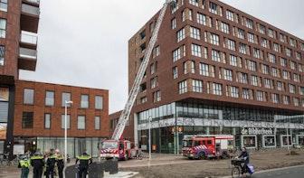 Appartementencomplex Kanaleneiland tijdelijk ontruimd na brand