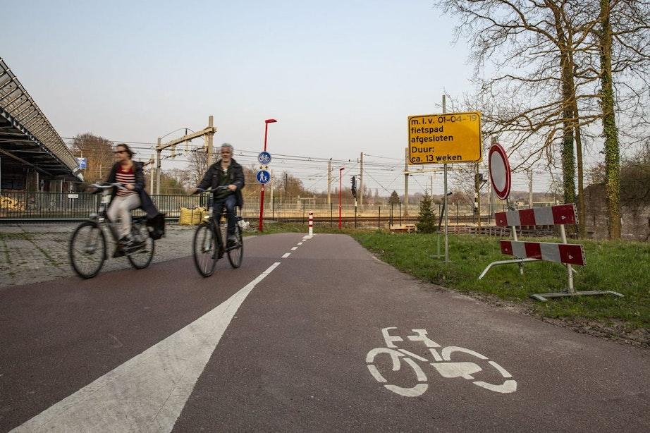 Brug Ravelijnpad vervangen en weer open voor fietsverkeer
