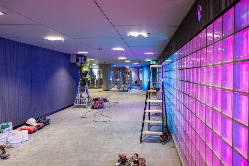 Noordertunnel bij Utrecht Centraal na zeven maanden verbouwen weer open