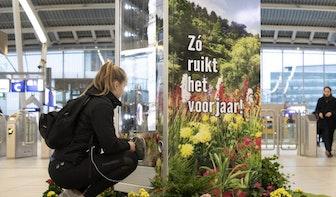 Onderbroekenautomaat op Utrecht Centraal