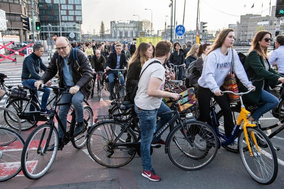Kunnen de Utrechtse fietspaden de drukte nog aan?
