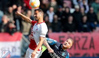 FC Utrecht schiet weinig op met gelijkspel tegen Vitesse