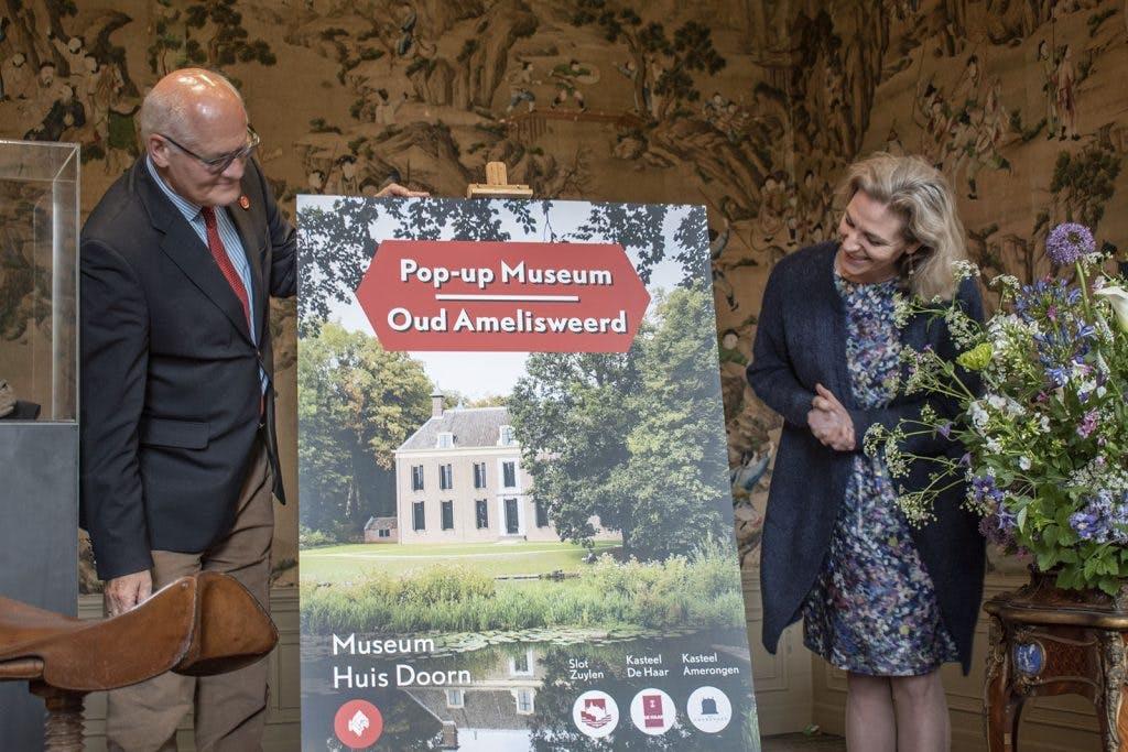 Landhuis Oud Amelisweerd wordt pop-up museum