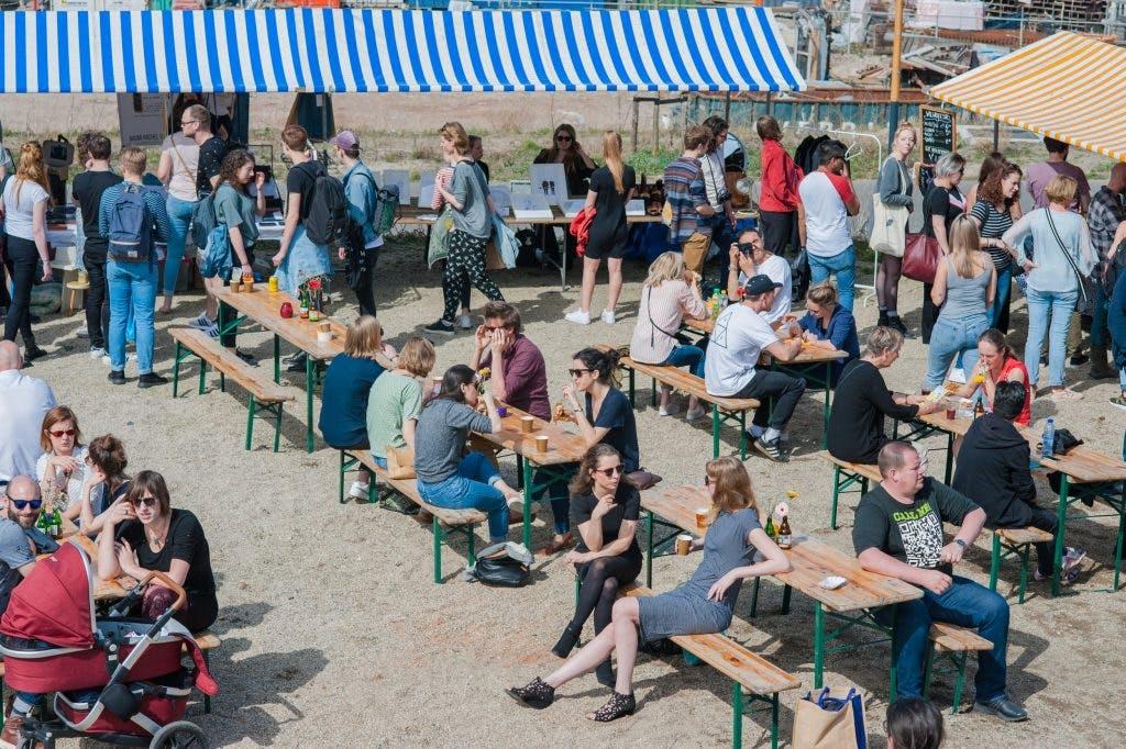 Zondag 7 april: eerste editie Berliner Garten