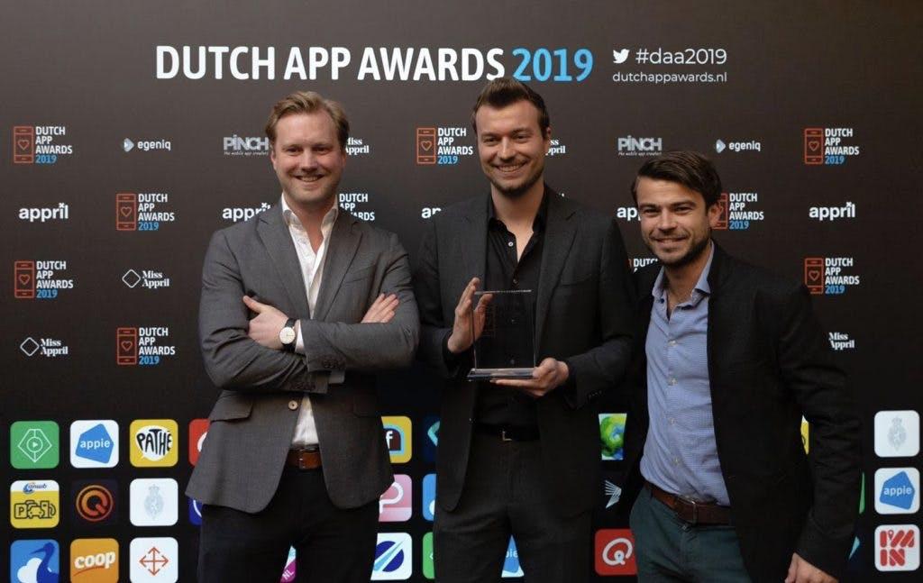 Utrechts bedrijf StuComm wint Dutch App Award