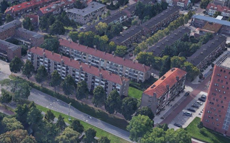 Mitros wil 320 nieuwe woningen bouwen in Staatsliedenbuurt