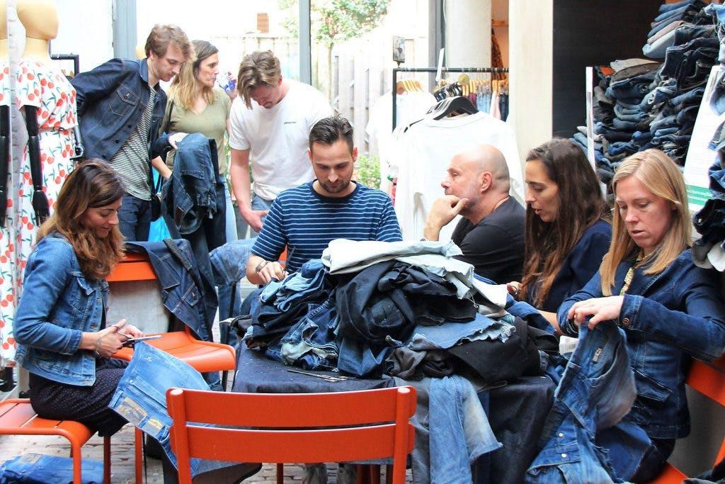 De duurzame spijkerbroek als ode aan de stad
