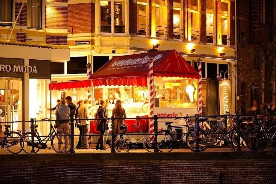 Documentaire over Utrechtse ijskiosk Venezia in de maak