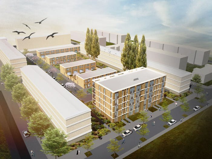 Bouw 48 woningen aan Dickensplaats kan 2020 starten