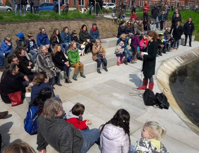 Feestelijke opening nieuw stadspark Zuilen