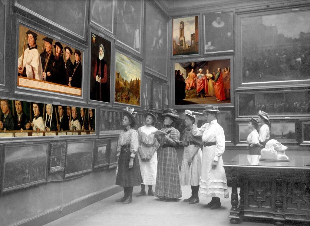 Verdwenen musea: Museum Kunstliefde aan de Oudegracht