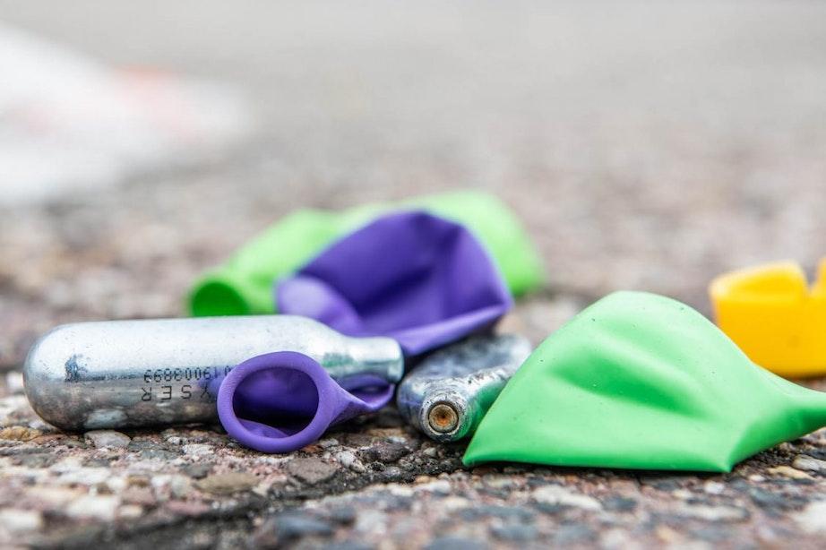 Gemeente Utrecht ziet geen aanleiding om op te treden tegen lachgas