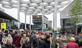 Foto's: Tweede gedeelte Stationsplein geopend