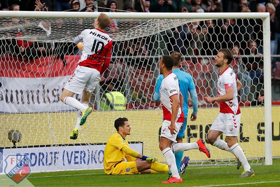 FC Utrecht verslaat Heracles Almelo en plaatst zich voor finale play-offs
