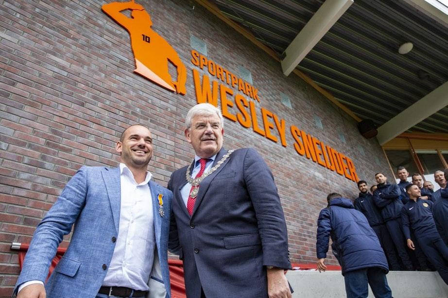 Wesley Sneijder heeft eigen sportpark in Ondiep