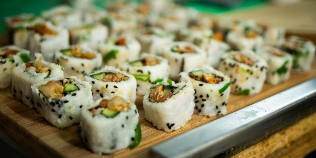 Dagtip: Vegan sushi diner bij Bar Stadstuin
