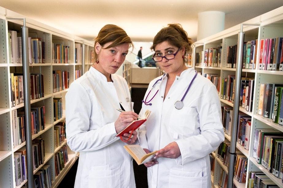 Dagtip: De Boekenapotheek tijdens de opening van bibliotheek Leidsche Rijn Centrum