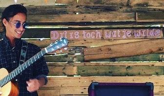 Dagtip: Gratis terrasconcert door singer-songwriter Terence Roelofsen bij Molen de Ster