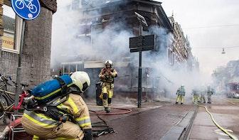 Studenten vinden elders onderdak na grote brand Nobelstraat