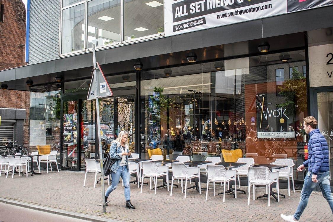 Restaurant WOK! aan het Vredenburg is geopend
