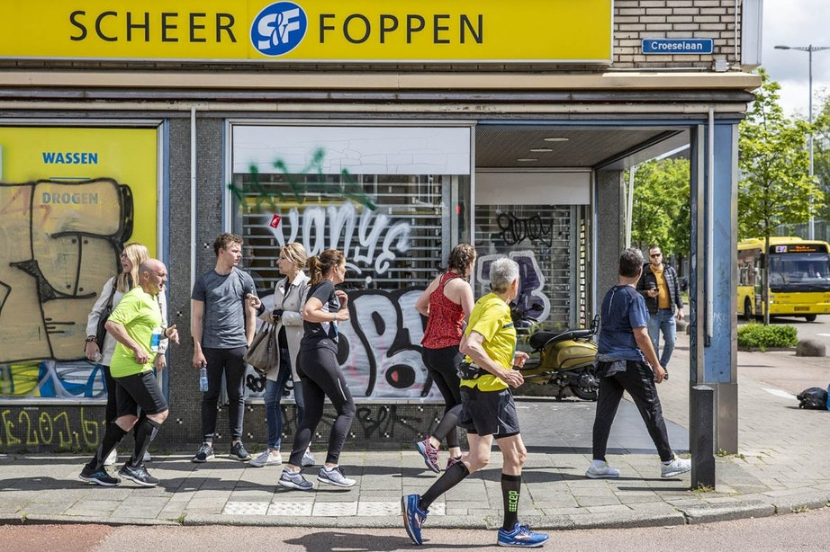 Honderden deelnemers lopen verkeerde route tijdens marathon Utrecht