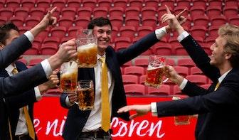 Grap van Utrechtse studenten loopt uit de hand: Johan Cruijff Arena wordt bierfestijn