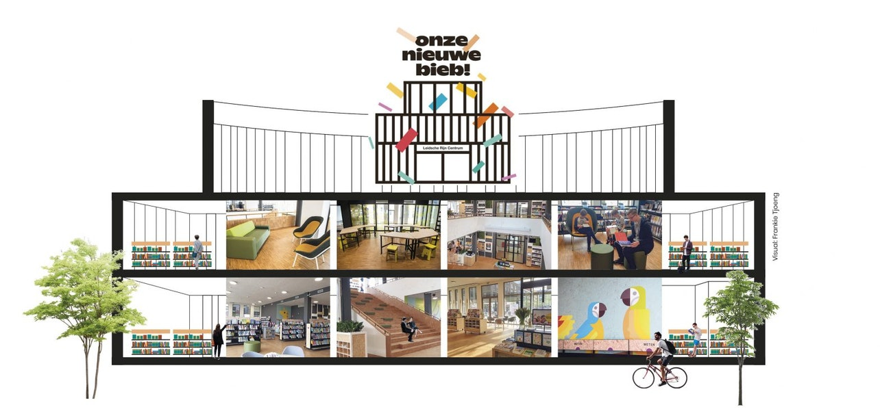 Feestelijk openingsweekend Bibliotheek Leidsche Rijn Centrum