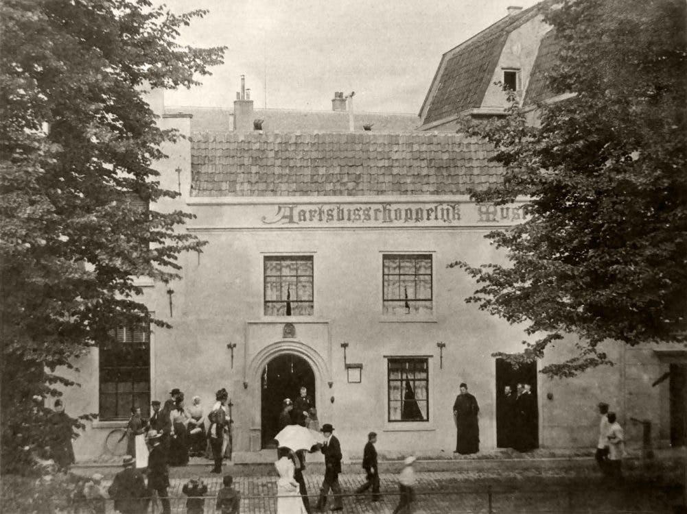 Verdwenen musea: Aartsbisschoppelijk Museum aan de Nieuwegracht