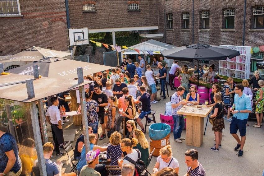 Derde editie Gin Festival in voormalige gevangenis Wolvenplein