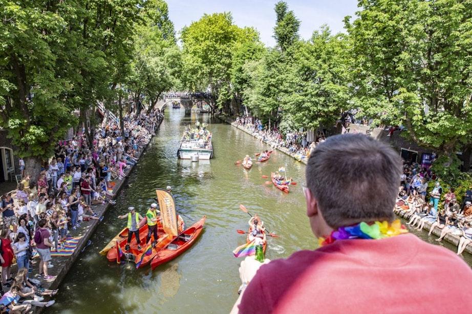 Canal Pride Utrecht in juni afgelast door grote onzekerheid