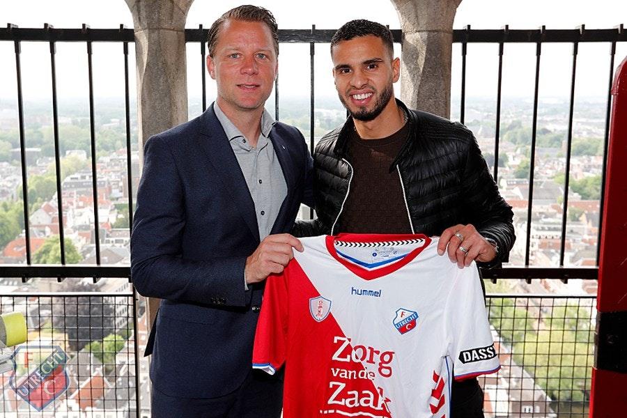 Adam Maher volgt John van den Brom en tekent driejarig contract bij FC Utrecht