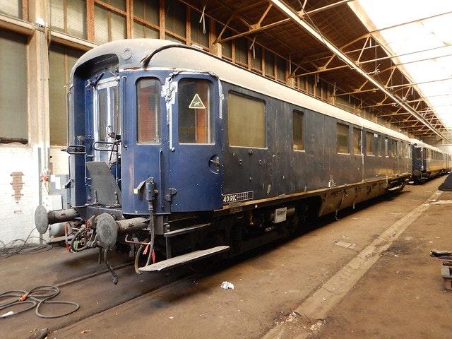 Spoorwegmuseum herstelt restauratierijtuig Plan D