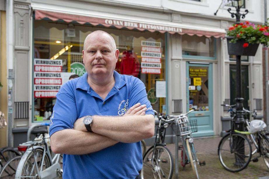 Fietswinkel Co van Beek sluit na 58 jaar aan de Springweg: 'Op een gegeven moment houdt het op'
