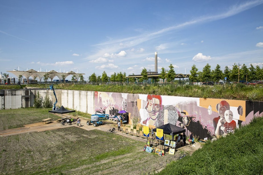 Nieuwe gedoogplek voor Utrechtse graffitispuiters