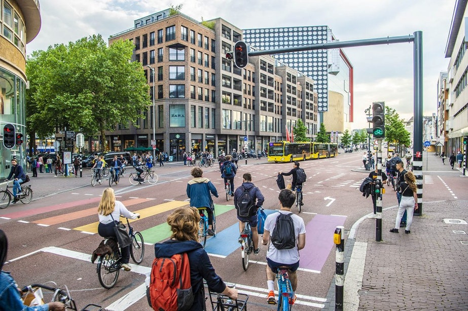Utrecht zakt naar derde plek op wereldranglijst fietssteden