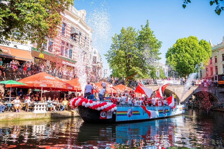 Nagenieten met aftermovie van derde editie succesvolle Canal Pride