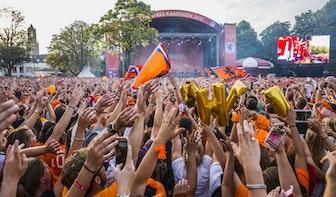 WK-finale op twee pleinen in Utrecht op groot scherm