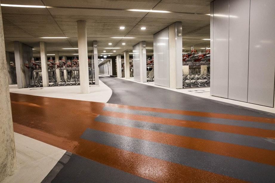 Grootste fietsenstalling ter wereld opent maandag in Utrecht