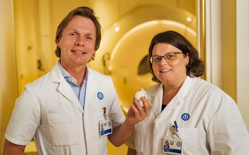 Primeur voor WKZ: Eerste MRI-scan van hartje van ongeboren kind